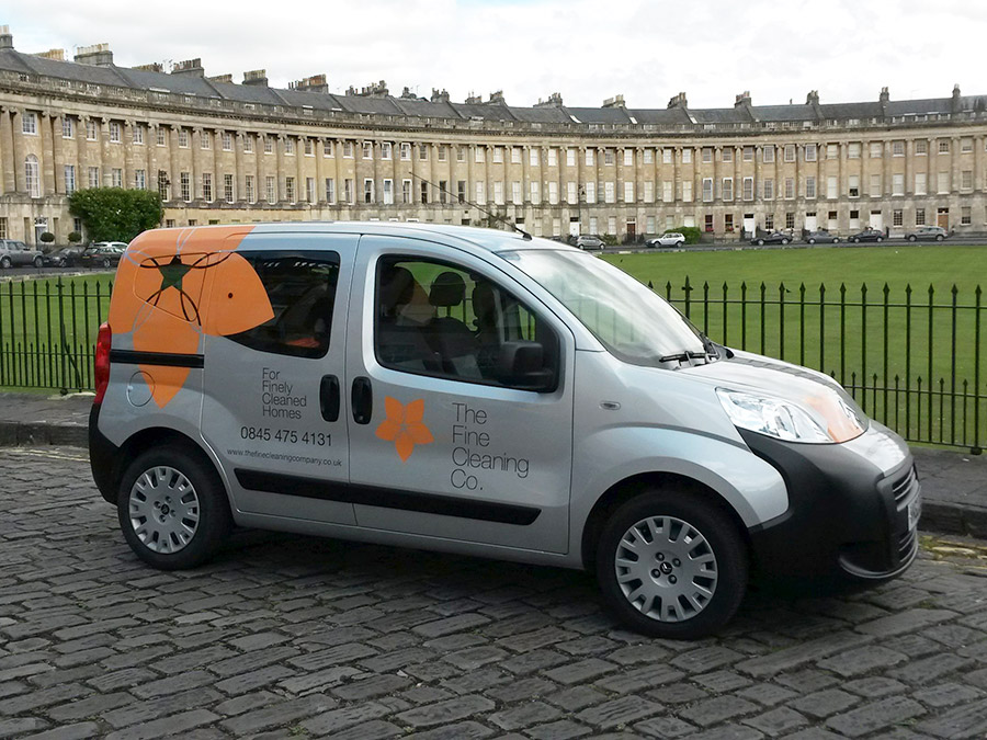The Fine Cleaning Company vehicle